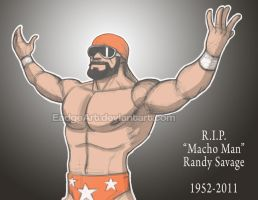Macho Man Randy Savage by EadgeArt