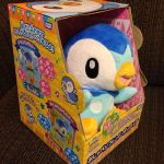 Electronic motion activated talking Piplup plush by ryanthescooterguy