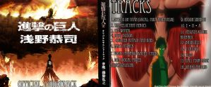 FanMade: Attack on Titan Soundtrack CD Cover by ThatNekohacker