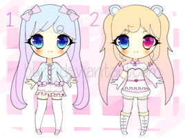 Twin Tails Adoptable Batch {CLOSED} by Bunri