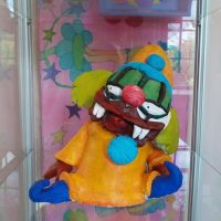 crezy pete Fullbody sculpture *now in color* by sixteen6stars
