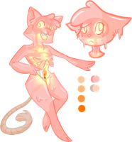 Candle Cat adoptable (CLOSED) by Skoryx