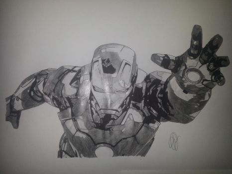 Iron Man by Emmris-Dessin
