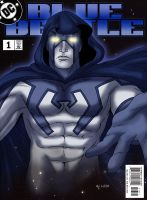 The Blue Beetle Spectre by Eji