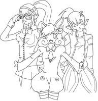3 Sisters by greenteaxchaos