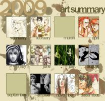 2009 art summary by fu-fu