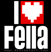I love Fella by nikodemsocha