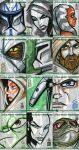 Topps Clone Wars Cards 2 by grantgoboom