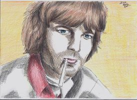 Rick Wright by BlueRisingSun
