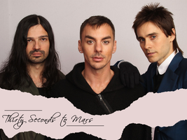 30 Seconds to Mars Wall 407 by martiansoldier