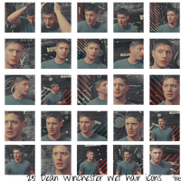 Dean's Hair Icons by alice-castiel