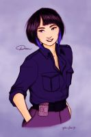 Mako Mori by liminowl