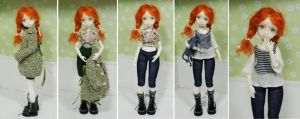 Doll Michell - Anne of Green Gables by iasio