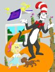 Cat in the Hat coloring page by pies26