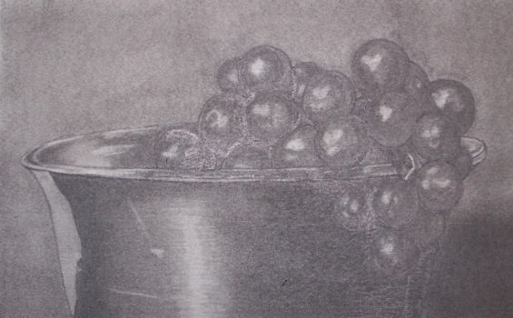 Grapes in a Bowl by moose6182