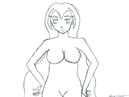 Sketch Dawing Bodies Female by gtstyling32