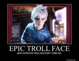 Jack Frost Motivational - Troll Face by HotWireGirll6
