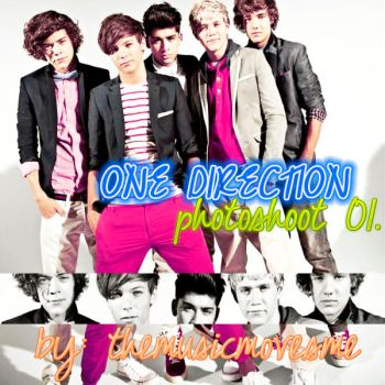 One Direction Photoshoot 01. by themusicmovesme