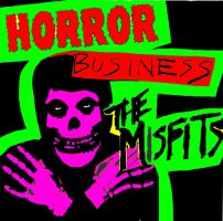 Misfits Horror Business Pop Art by zombis-cannibal