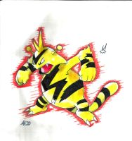Pokemon: Electabuzz by GrimaceCat