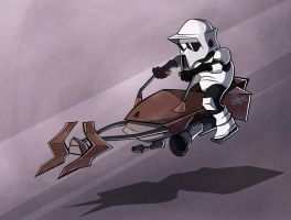 Speeder Bike by Sodano