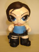 Jill Valentine Munny by Flame-Ivy