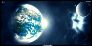 Destination Earth_ by airstyle