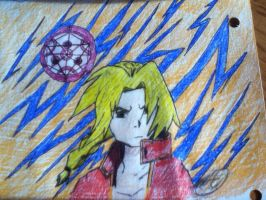 Edward Elric by hollieflame