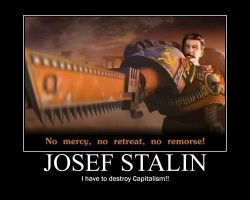 JOSEF STALIN by Varezart
