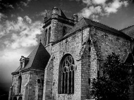 nice building in brittany france by robo69