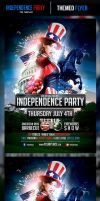 Independence Day Flyer Template Preview by odindesign