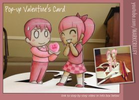 Pop Up Valentine's Card by markcrilley