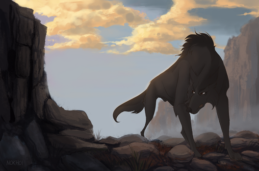 Desolate Land by Nokhoi