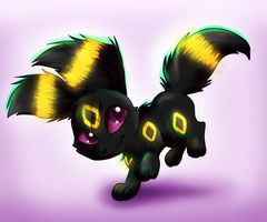 Luna the Umbreon by MileniaKitsuvee