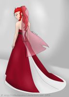 Axel Wedding Gown by RikkuFukaimori