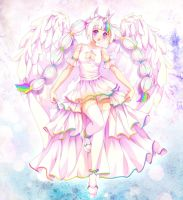 [+Speedpaint] Angel In A Prism by Emphasis-Lest