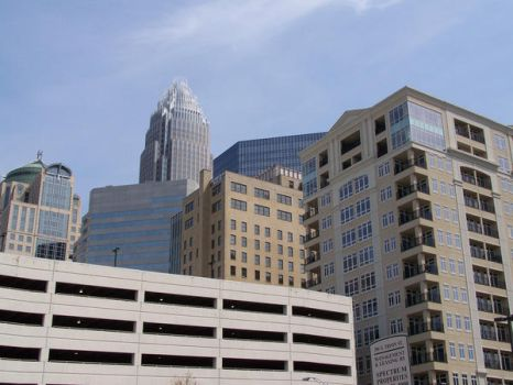 Uptown Charlotte 2 by SteelMcGee