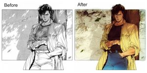 Ryo Saeba recolored by Piccolapiplup