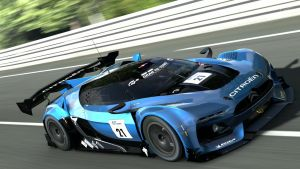 Tackling The Mulsanne by RacerXNFS