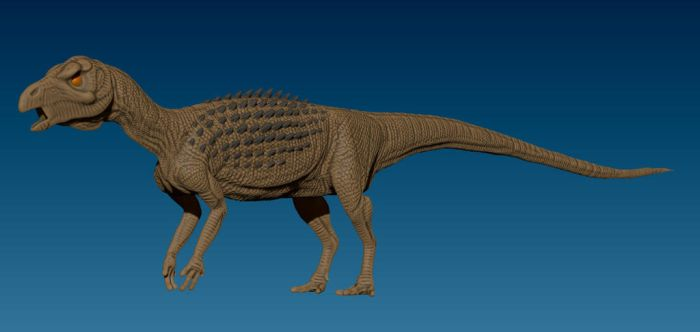 Scutellosaurus WIP by Art-Minion-Andrew0