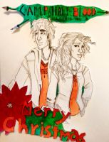 MErry Christmas from camp halfblood by LuckyBucky74