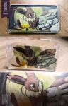 3DS Custom Case - Eevee and Eevee by UmbreoNoctie