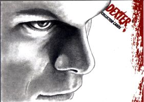 Dexter Morgan Closeup by Dr-Horrible