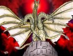 KING GHIDORAH: The King of Terror by AVGK04