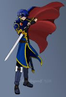 HKoL: Masked Marth by brawlingwolf
