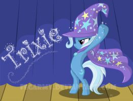 The great and powerful Trixie by erysz