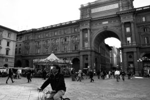 Florence's Square by porTTRaits