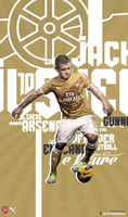Wilshere presents the jersey ! by Gx-S3n0r