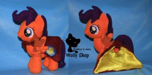 Scootalo with her cape! by Vegeto-UchihaPortgas