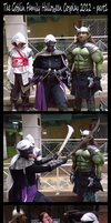 The Goblin Family Halloween Cosplay 2012 - part1 by hawthorne-cat